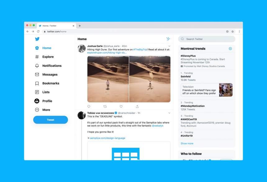 Algunas novedades de Twitter para 2020